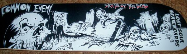 """Skate of the Dead"" Skate Deck"