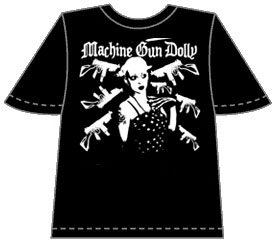 Dolly And Guns T-Shirt
