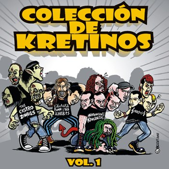Colección de Kretinos Vol.1 (Split CD album)