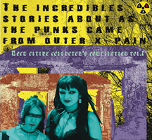 The Incredible Stories About As The Punks Came From Outer X-PAIN, Vinyl LP 12